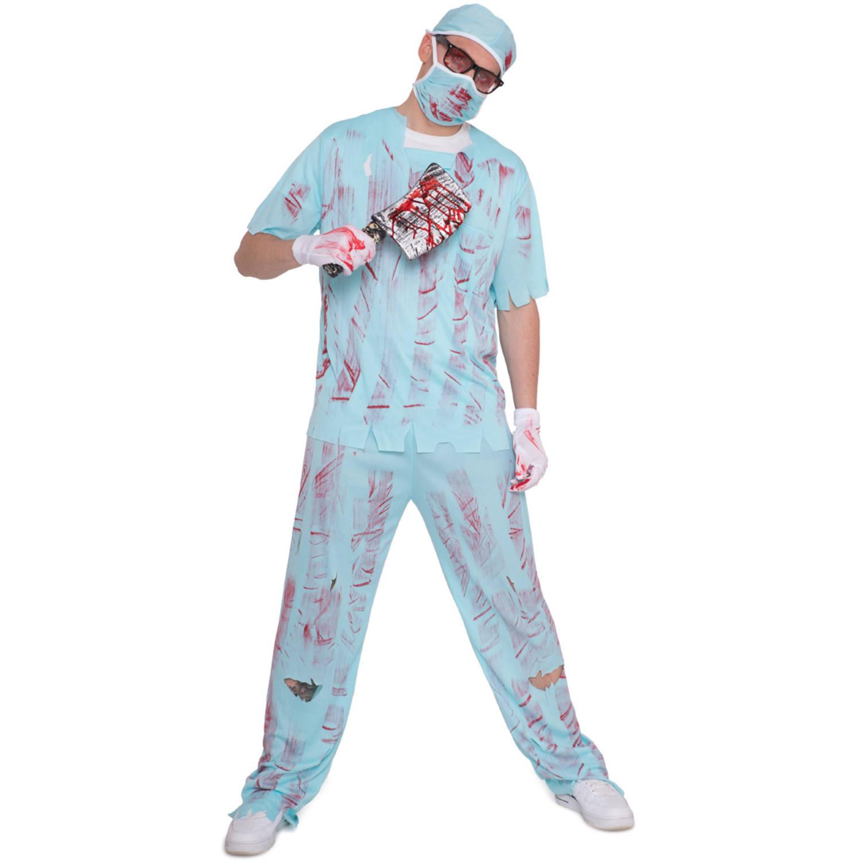 Bloody Surgeon Costume Size Xl Xxl