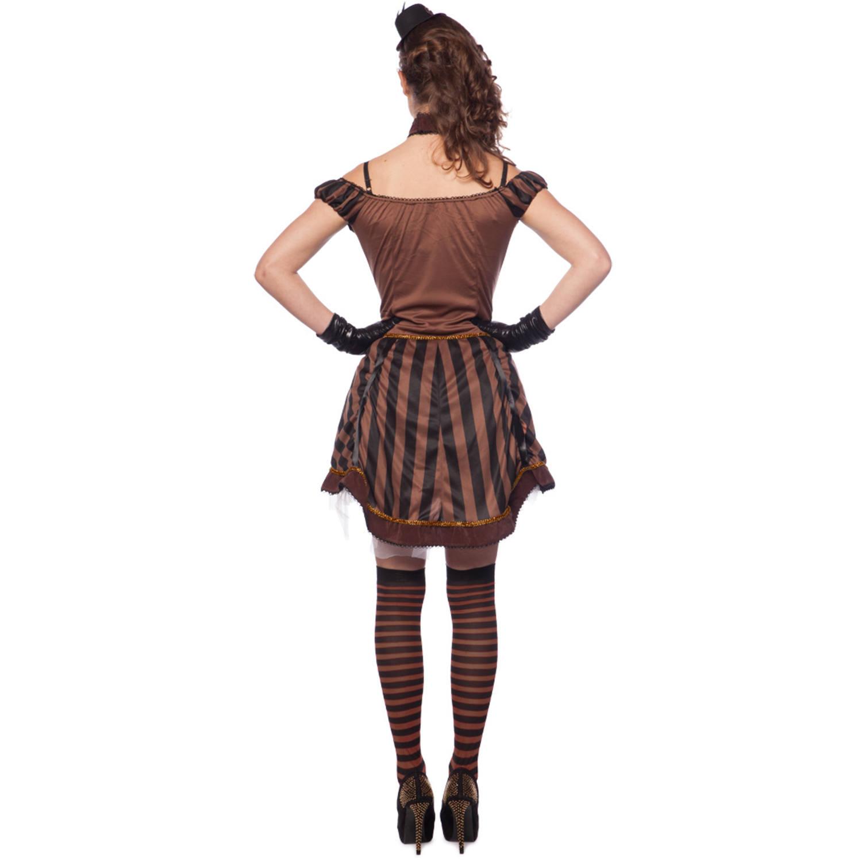 steampunk kleid für damen - größe l-xl