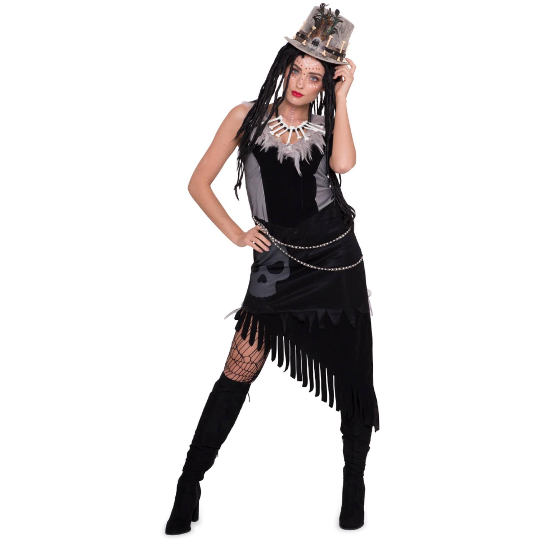 voodoo-kleid für damen - größe s-m
