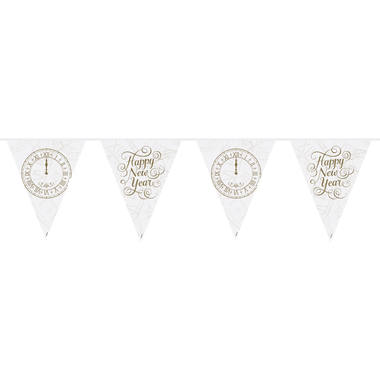 Happy New Year Bunting Garland - 10 m 1