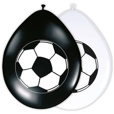 Fußball Ballons 8 Stück Neu /& OVP