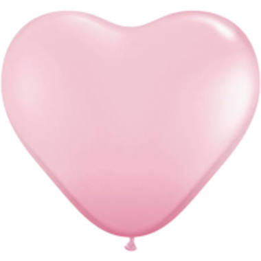 Pink Heart Balloons 13 cm - 100 pieces 1