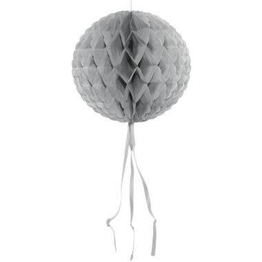 Silver Honeycomb Ball - 30 cm 1