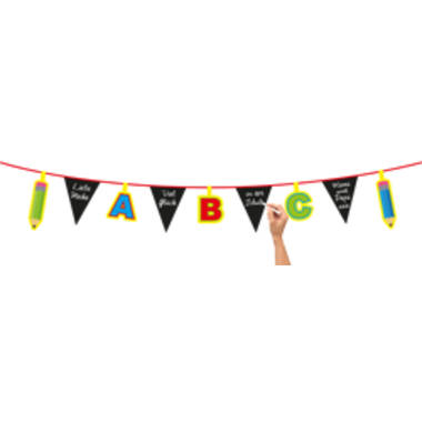 Children's Party ABC Bunting Garland - 4 m 1