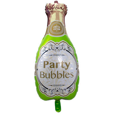 Champagne Bottle Foil Balloon - 45x92 cm flat 1