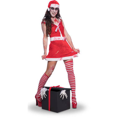 Sexy Miss Claus Costume for Women - Size L-XL 6