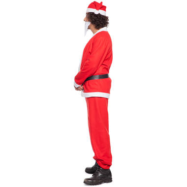 Santa Claus Costume 5 pieces for Men - Size M-L 2