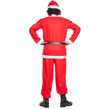 Santa Claus Costume 5 pieces for Men - Size M-L 4