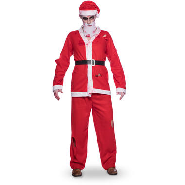 Santa Claus Costume 5 pieces for Men - Size M-L 6