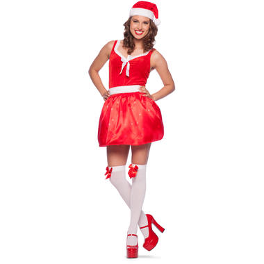 Christmas Dress with LED for Women - Size S-M 1