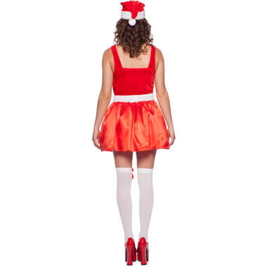 Christmas Dress with LED for Women - Size L-XL 3