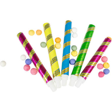 Blow pipes and 100 Balls 16cm - 5 pieces 1