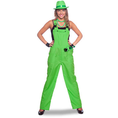 Overall Neon Green for Adults - Size L- XL 1