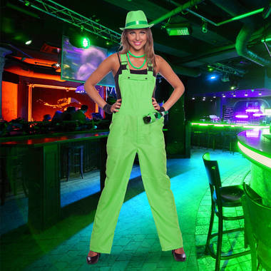 Overall Neon Green for Adults - Size L- XL 2