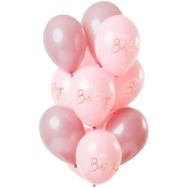 Balloons Elegant Lush Blush 30cm - 12 pieces 1