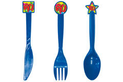 Cutlery 60th Birthday Colour Assorted - 24 pieces 1