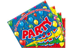 Invitations Party Balloons - 8 pieces 1