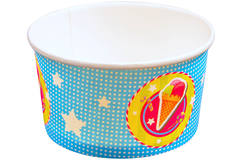 Cake & Candy Ice Cream Cup - 8 pieces 1