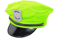 Police Hat Neon Green 1