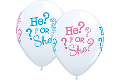 Gender Reveal Balloons 28 cm - 25 pieces 1