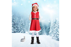 Christmas Dress for Girls - Size M 2