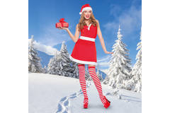 Sexy Miss Claus Costume for Women - Size L-XL 5