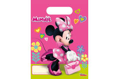 Minnie Mouse Happy Birthday Gift Bags - 6 pieces 1