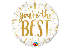 Foil Balloon 'You're the best' - 45cm 1
