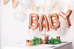 Rose Gold Glitter Bunting Garland - 6 m 2