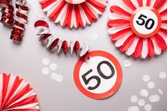 40th Birthday Traffic Sign Hangers - 3 pieces 4